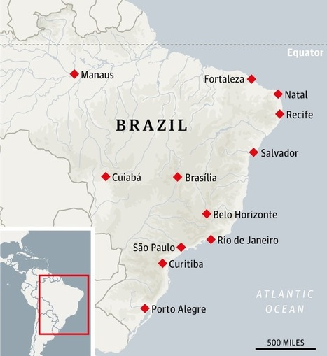 The complete travel guide to Brazil's World Cup cities | Travel Bites &... News | Scoop.it