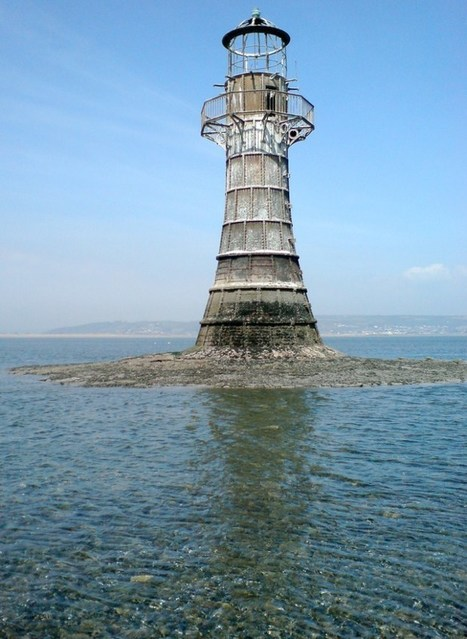 The Derelict Cast Iron Whiteford Point Lighthouse of South Wales | Modern Ruins | Scoop.it