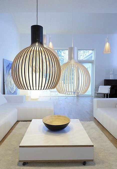 Contemporary-Pendant-Lights-Ideas.jpg (670x967 pixels) | House refurbishment | Scoop.it