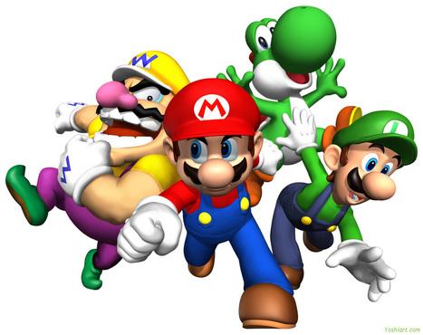 mario-characters.jpg (1062x842 pixels) | online games | Scoop.it