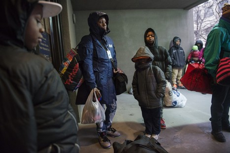 Homeless families seek shelter from the storm | SocialAction2015 | Scoop.it