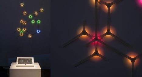 WaElice : 3D printed interactive modular lamp | 3D Printing and Fabbing | Scoop.it