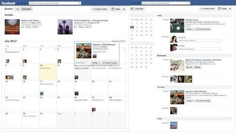 #Facebook rediseña la sección de #Eventos incorporando visualizaciones de lista y calendario | Social Media e Innovación Tecnológica | Scoop.it