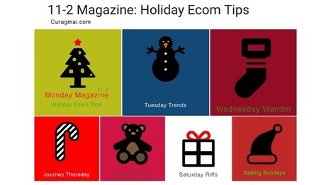 Holiday Ecommerce Tips Magazine Starts 11.2 on Curagami.com | Startup Revolution | Scoop.it