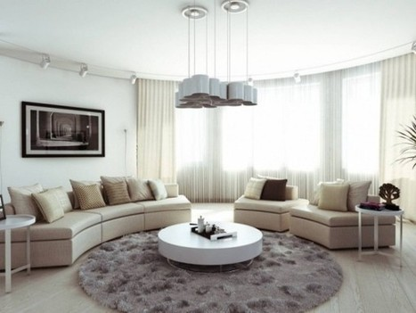 5 trend living room ideas with cozy atmosphere | Designinggal | interior design inspirations | Scoop.it