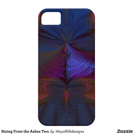 Rising From the Ashes Two. iPhone 5 Cover from Zazzle.com | Fractal Gifts | Scoop.it