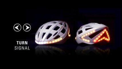 Lumos, le casque de vélo lumineux qui sert de clignotant | Curiosités planétaires | Scoop.it