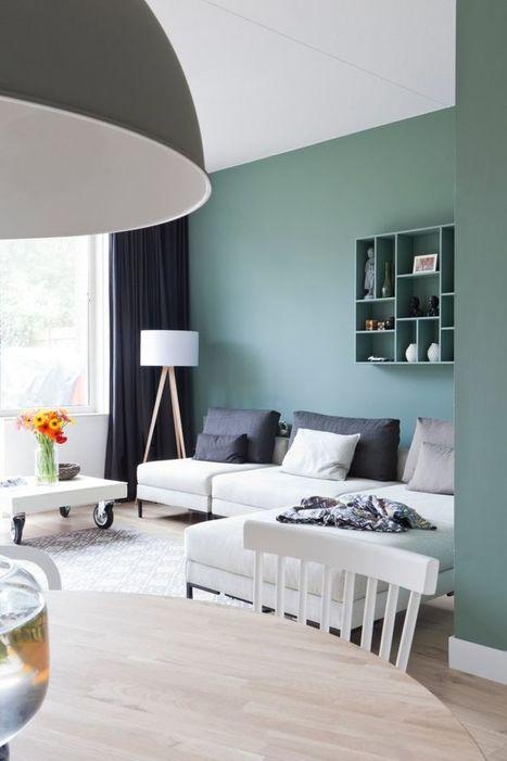 Comment choisir le bon vert pour ses murs ? | décoration & déco | Scoop.it