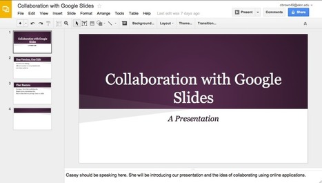 5 presentation tools that enable better collaboration | Digital Presentations in Education | Scoop.it