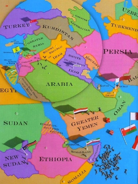 The New Map of the Middle East | Pre-AP Geography | Scoop.it
