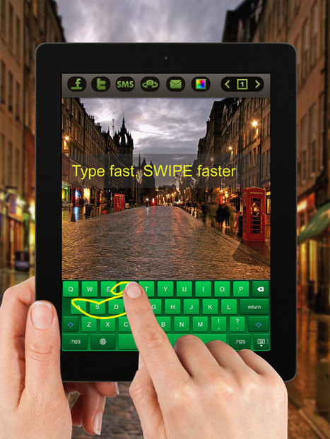 Swype Type - Digital Office // iAppsTOP.com | Applications productivité - utilitaire - navigation sur smartphones : ios, android et windows | Scoop.it