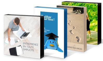 10 idées simples pour concevoir vos couvertures de livres numériques | Les trouvailles de Froggy'Net | Scoop.it