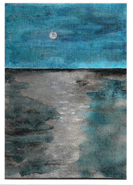 Original Art Digital Print  'Sulky Sea' 5x7 Matte Finish | Cyber Arts | Scoop.it