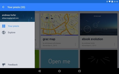 G-learning: Prezi for Android review | glearning | Scoop.it