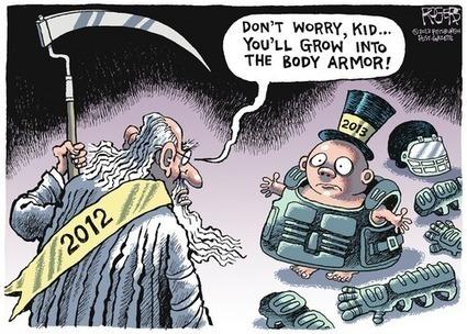 Rob Rogers by Rob Rogers, December 30, 2012 Via @GoComics | The Clueless Cartoonist Explorer | Scoop.it