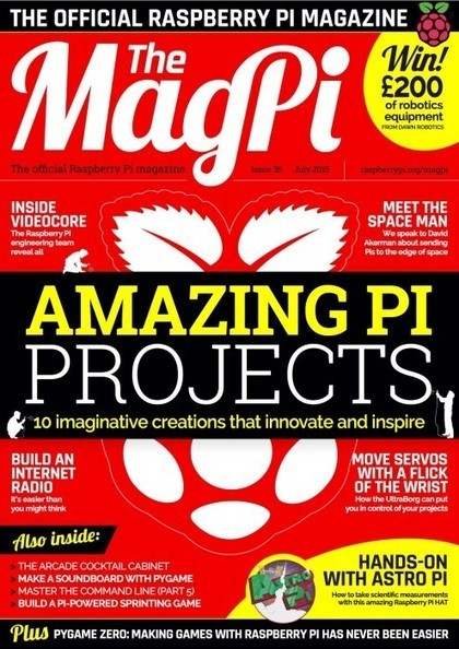 The MagPi issue 35 – next month we're in print! | Raspberry Pi | Scoop.it