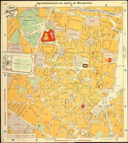 Cartographie ancienne de Montpellier - Ville de Montpellier | Rhit Genealogie | Scoop.it