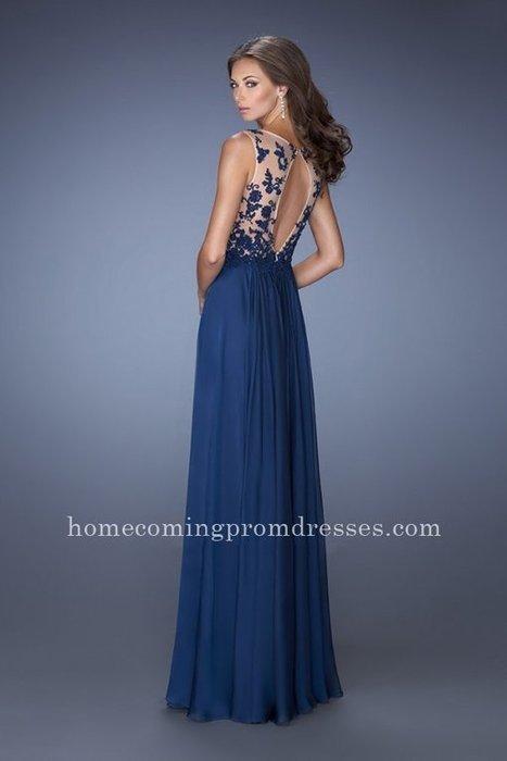 La Femme 19788 Deep V Sheer Keyhole Navy Lace Back Prom Gown [LF-19788] - $178.00 : Prom Dresses | Homecoming Dresses | girlsdresseshop | Scoop.it