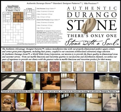 13 of 13 Phoenix Arizona Travertine Tile Design Patterns | Natural Stone Travertine Tiles | Scoop.it