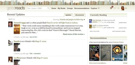 Como usar o Goodreads? | Litteris | Scoop.it