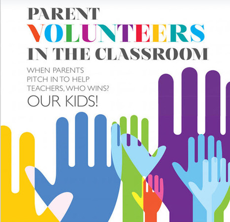 Where Teachers REALLY Want Parents to Volunteer [Infographic] | Volunteers | Scoop.it