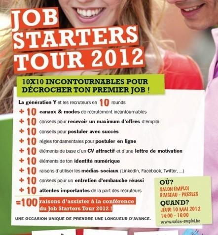 J-2 Salon de l'emploi et de la Création d'Activités | Communiquer sur le Web | Scoop.it