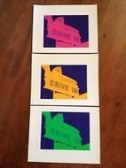 Original Sno-Flake DRIVE IN Pop Art Prints on Canvas (Set of 3), 5 3/4 x 7 1/2 | Canvas Prints—Buying & Selling | Scoop.it
