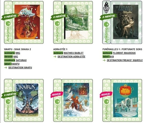 Restructuration éditoriale chez Ankama | Veille sur la bande dessinée pour tous | Scoop.it