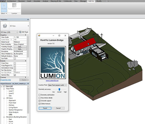 Bring your Revit model into Lumion with Revit exporters add-on  | BIM Forum | Scoop.it
