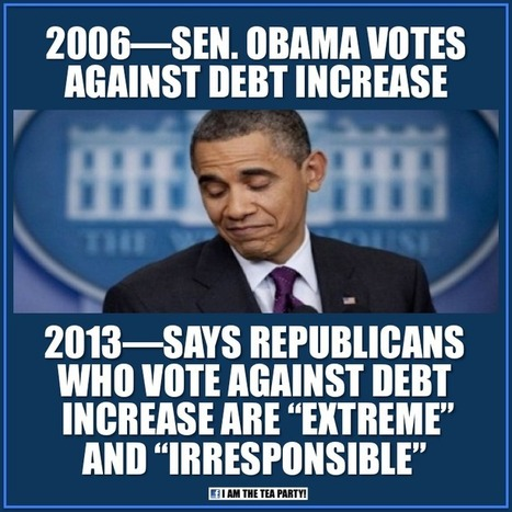 Hypocrisy: More Obama Lies About Debt Ceiling | OBAMA LIES | Scoop.it