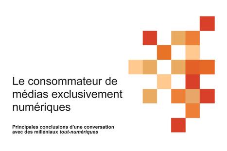 Le consommateur de médias exclusivement numériques via Fonds des médias du Canada | Le nouveau monde du livre par la Fondation littéraire Fleur de Lys | Scoop.it