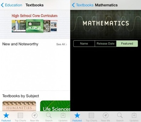 iBooks Textbooks Appear Ahead of iOS 7 Launch - GottaBeMobile | ibook | Scoop.it