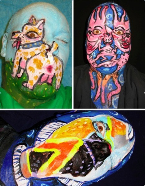 The Weirdest Painted Faces Ever » This Blog Rules | Why go elsewhere? | Strange News | Scoop.it
