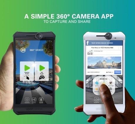 YEZZ Sfera : le premier smartphone avec une caméra 360 - GoGlasses | Marketing et Côtes d'Armor | Scoop.it