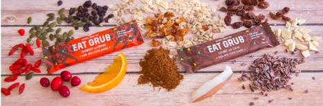 Grub Launches Energy Bar Made with Cricket Powder - The Food Rush | Entomophagy: Edible Insects and the Future of Food | Scoop.it