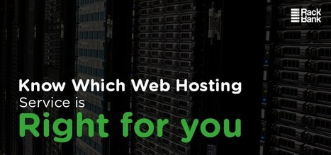 Know Which Web Hosting Service is right for you | All About Dedicated Server Hosting Services | Scoop.it
