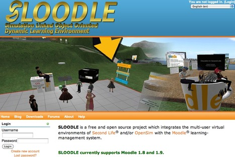 SLOODLE - Simulation Linked Object Oriented Dynamic Learning Environment | Digital Delights - Avatars, Virtual Worlds, Gamification | Scoop.it
