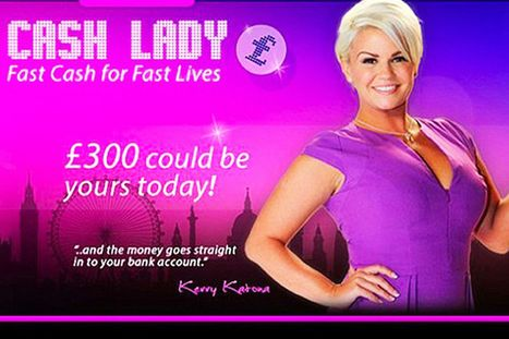 Kerry Katona files for bankruptcy for SECOND time and dropped as face of payday loan company | Get a CardOneBanking account with no credit check | Scoop.it