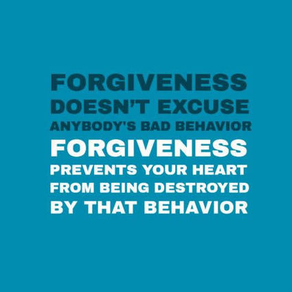 Forgiveness Doesn't Excuse Anybody's Bad Behavior | All About Coaching | Scoop.it