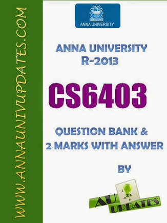 CS6403 Software Engineering Se Lecture Notes and Question Bank - 2 mark with answers ~ Anna University Nov Dec 2014 Results- Auupdates | Anna UNiversity Updates | Scoop.it
