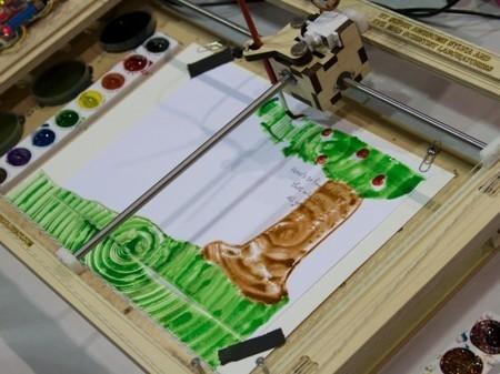 Une jeune fille de 12 ans invente un robot qui peint des aquarelles (vidéo) | Ca m'interpelle... | Scoop.it