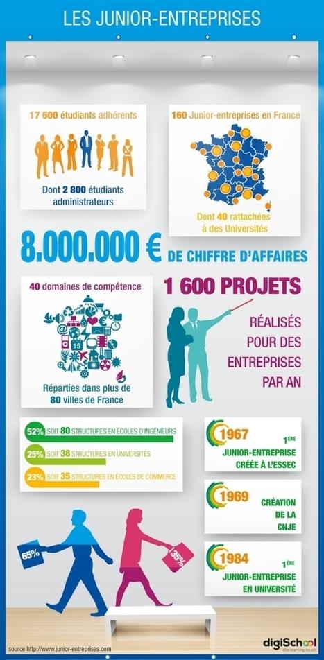 Infographie : les Junior-Entreprises en chiffres - digiSchool média | MouvementJE | Scoop.it