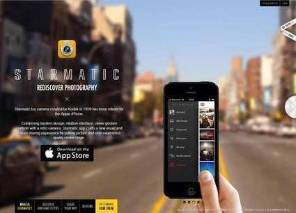 20 Exciting Mobile App Landing Pages - Inspirations | Web Design | Scoop.it