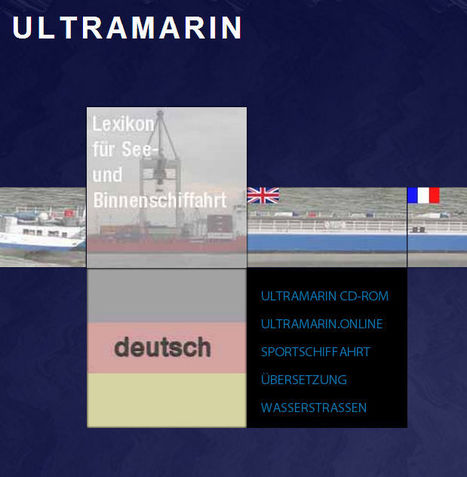 (EN)-(FR)-(DE)-(NL)-(€) - ULTRAMARIN maritime dictionary | xaron | French law for non french-speaking patrons - Legal translation tools | Scoop.it