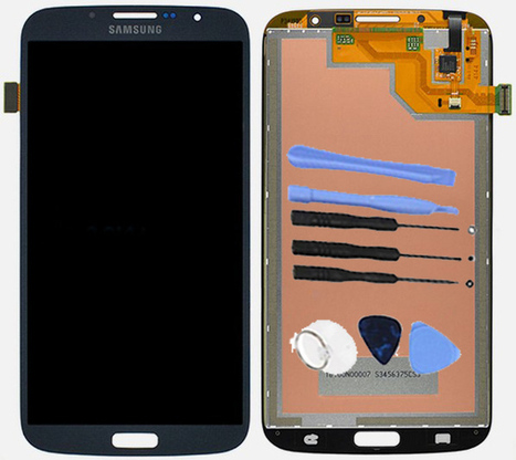 Black LCD Digitizer Assembly For Samsung Galaxy Mega 6.3 i527 i9200 i9205 +8 Tools Kit | newest phone accessories | Scoop.it