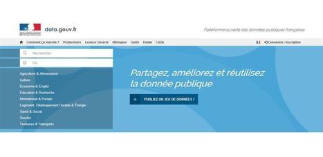 Open Data : 2,5 millions d'euros pour la mission Etalab | e-administration | Scoop.it