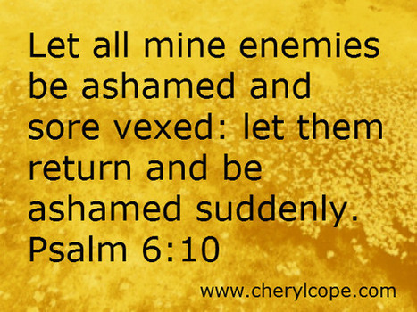 Praying Against the Enemy | Cheryl Cope | Christian Devotionals | Scoop.it