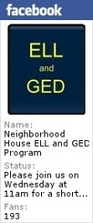 Neighborhood House ELL and GED Classes: ELL Intermediate AM | English Learners, ESOL Teachers | Scoop.it