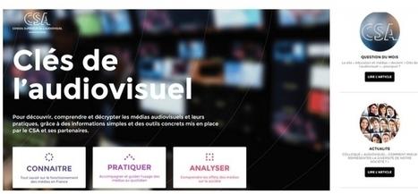 CSA : le site Education et Médias devient Les Clés de l'Audiovisuel - CB News | Médias, Numérique et Pédagogie | Scoop.it