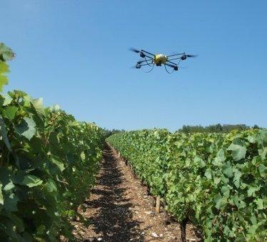 Alsace : un vigneron indépendant s'équipe d'un drône | Cavissima - Actualité vin | Scoop.it